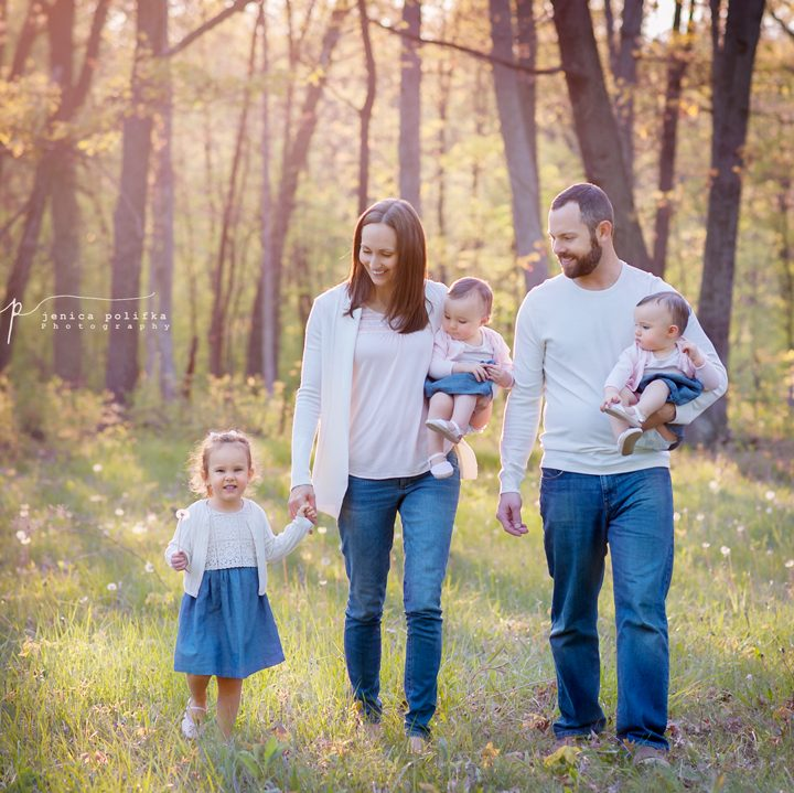 The Sleigh Family | Palatine Illinois Family Photography