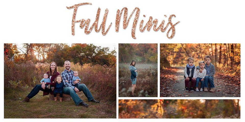 Fall Mini Sessions | Arlington Heights IL Family Photographer