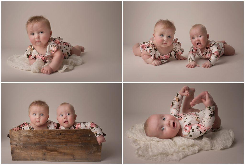 Arlington Heights Children Baby Milestone Photography 6 Months